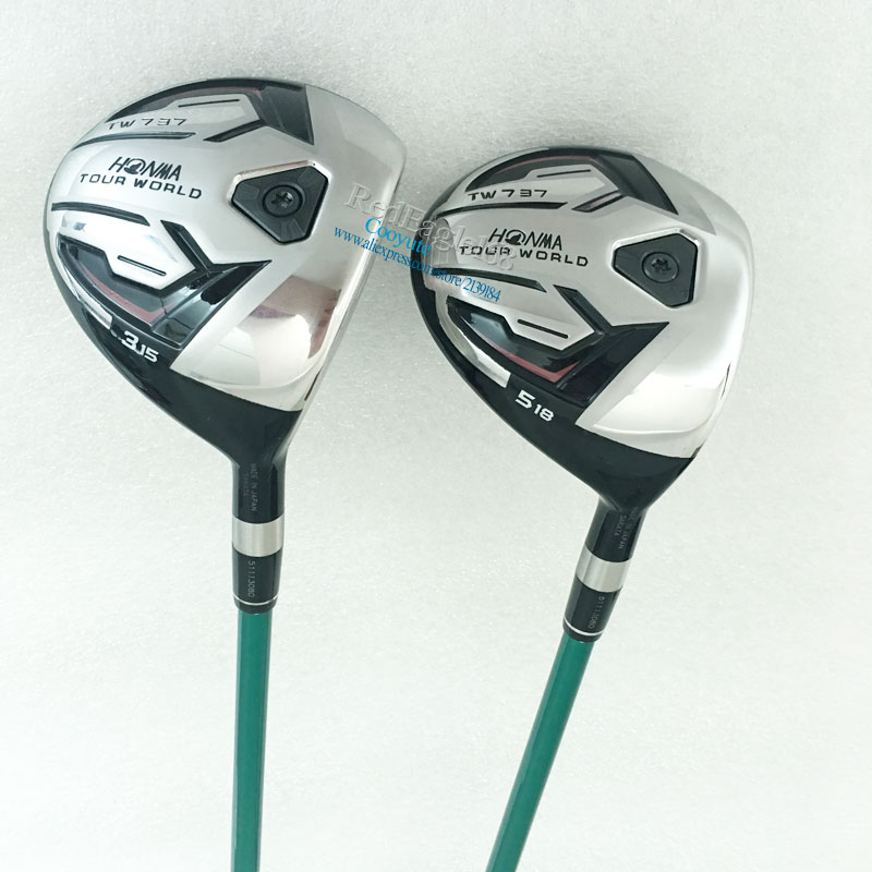 New mens Cooyute Golf clubs HONMA TW737 HONMA Golf Fairway wood 3wood/15. 5wood/18 Graphite Golf shaft wood clubs Free shipping new mens cooyute golf clubs honma s 05 4star golf wood complete set driver with fairway woods graphite golf shaft free shipping