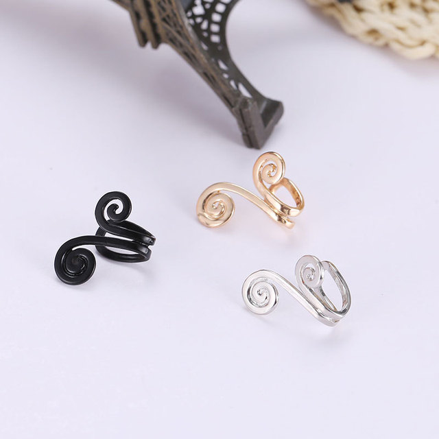 Crown Shaped Clip-On Cuff Earring