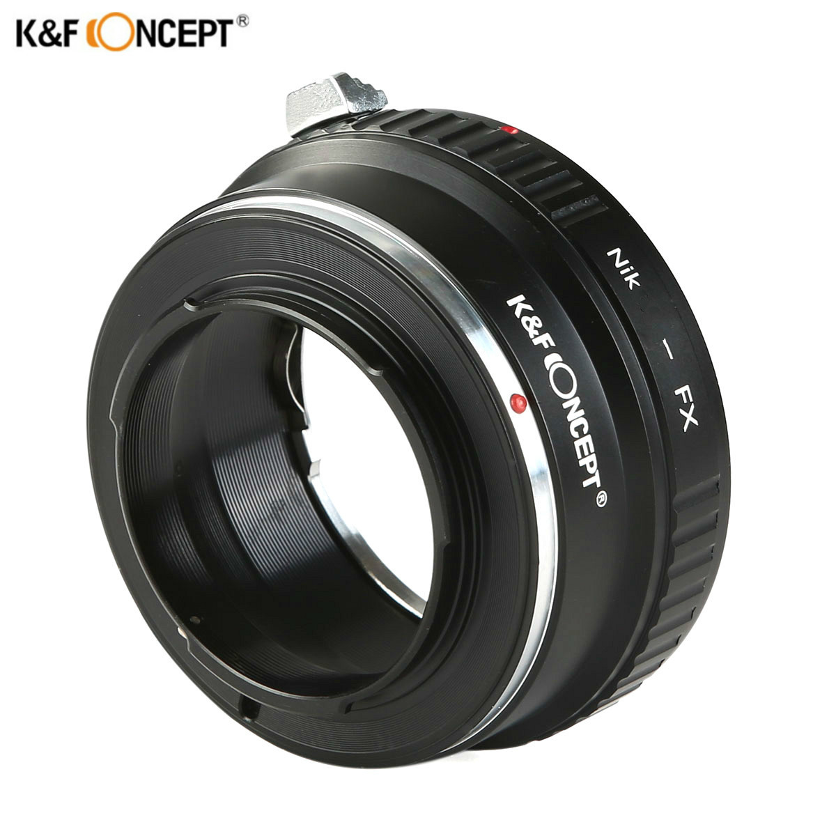 K&F CONCEPT Lens Adapter Ring for Nikon Auto AI AIs AF Lens to Fujifilm Fuji FX Mount X-Pro1 X-E1 Camera