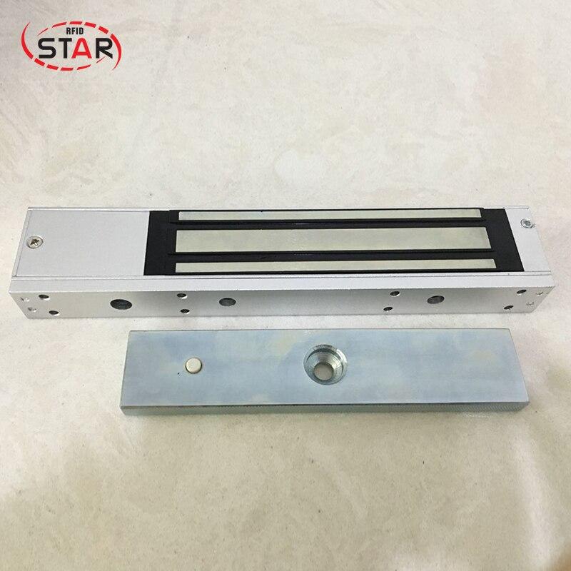 все цены на 280kg(600Lbs) holding force Signal output feedback Magnetic Door Lock glass door good Quality онлайн