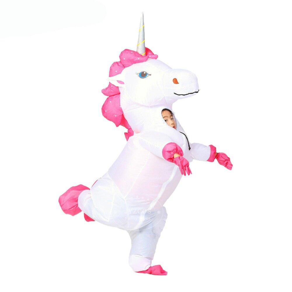 Unicorn Inflatable Costume 1