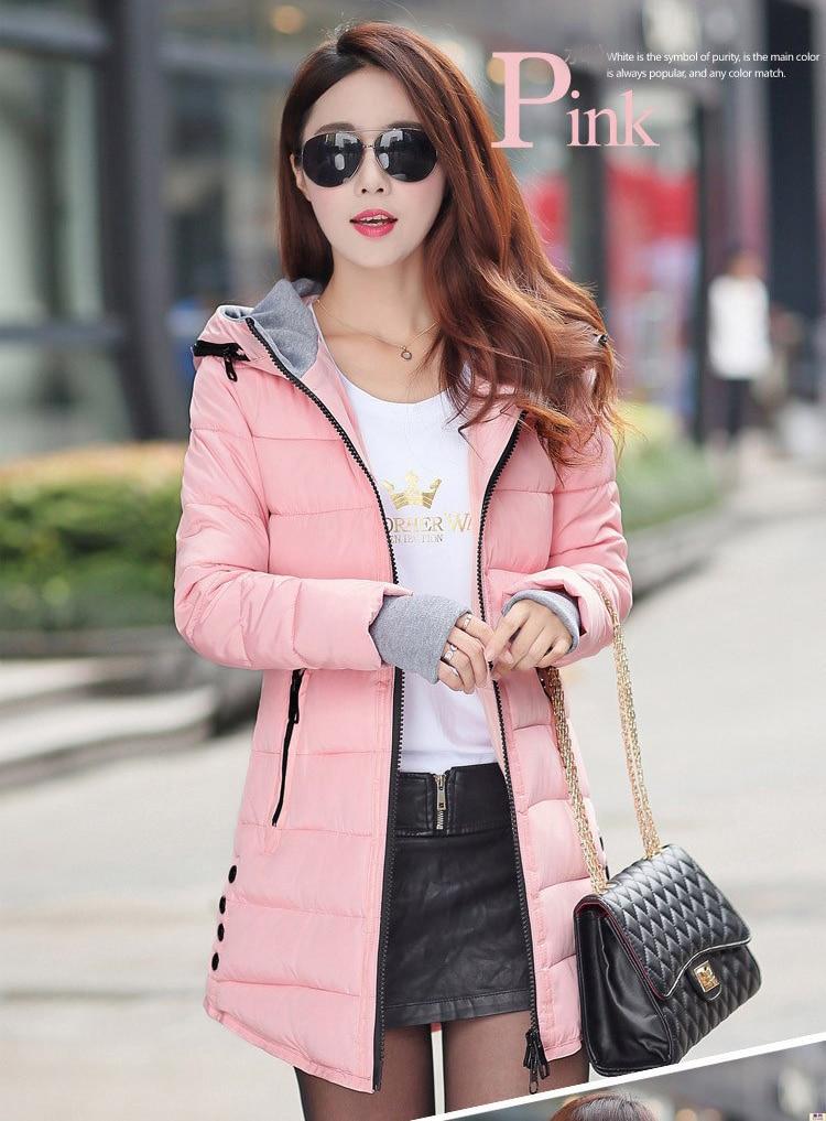 HTB1wAXPkLiSBuNkSnhJq6zDcpXaR 2019 women winter hooded warm coat plus size candy color cotton padded jacket female long parka womens wadded jaqueta feminina