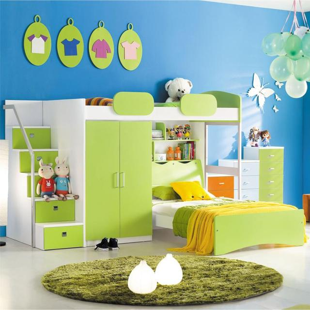 Bunk Bed With Wardrobe | Desainrumahkeren.com