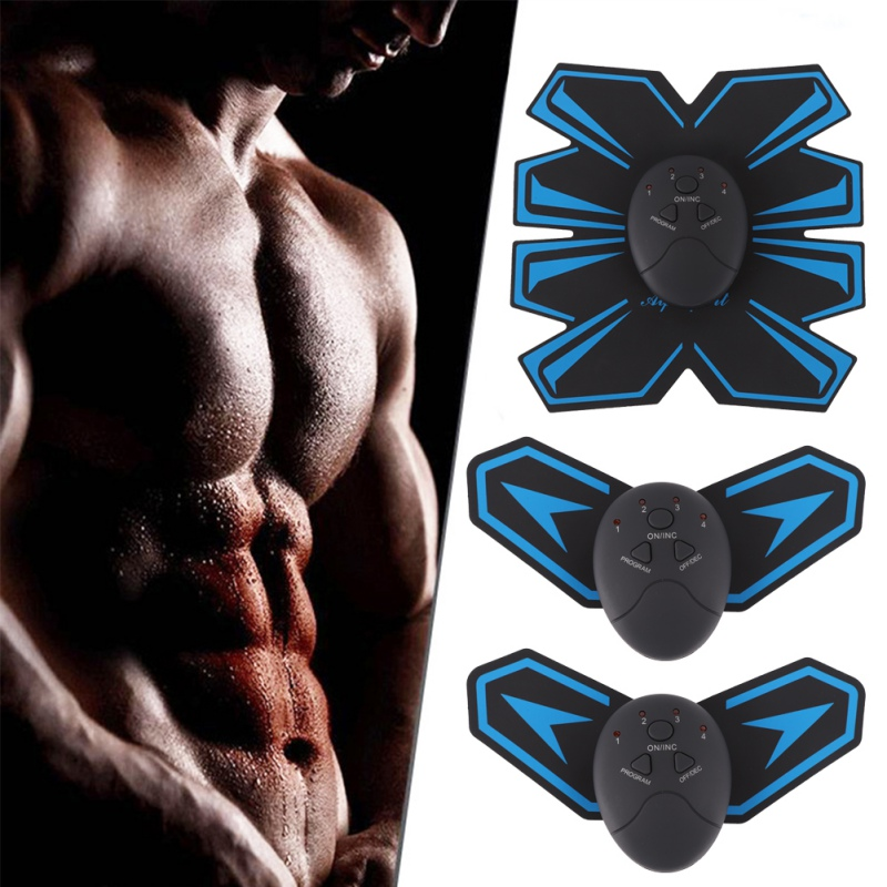 4 Types Wireless muscle toner Muscle Training Sticker Abdominal Exercise Fitness Equipment abdominal muscle trainer in Ab Rollers from Sports Entertainment