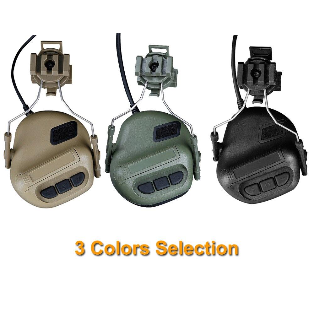 de ouvido com capacete ferroviario adaptador peltor 05