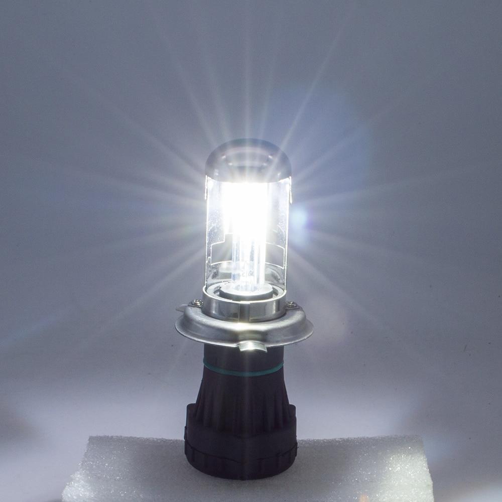 Safego Bixenon H4 HID Headlight Penggantian Untuk Mobil Sepeda Motor - Lampu mobil - Foto 6