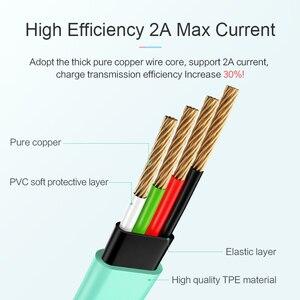 Image 4 - USAMS 2A câble Micro USB de charge rapide, câble microusb de données de synchronisation pour Samsung Xiaomi Huawei câble de téléphone portable Android micro cordon