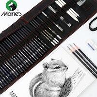 Sketch pencil set painting carbon pen tool pen curtain art supplies full set of student learning set Art supplies