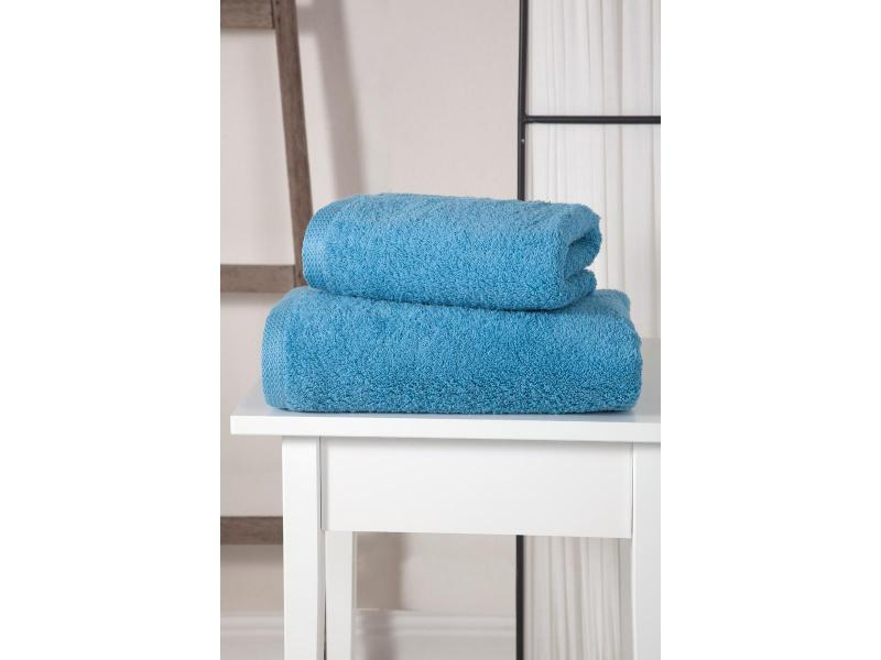 towel bath wellness симпл 70 140 cm peach Towel bath KARNA, APOLLO, 70*140 cm, Blue
