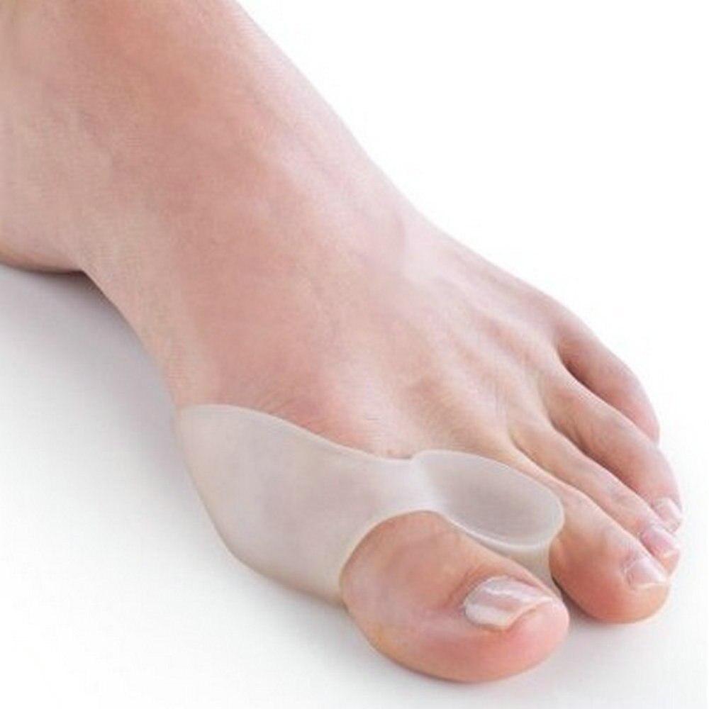 2Pcs Silicone Gel Bunion Splint Big Toe Separator -2196
