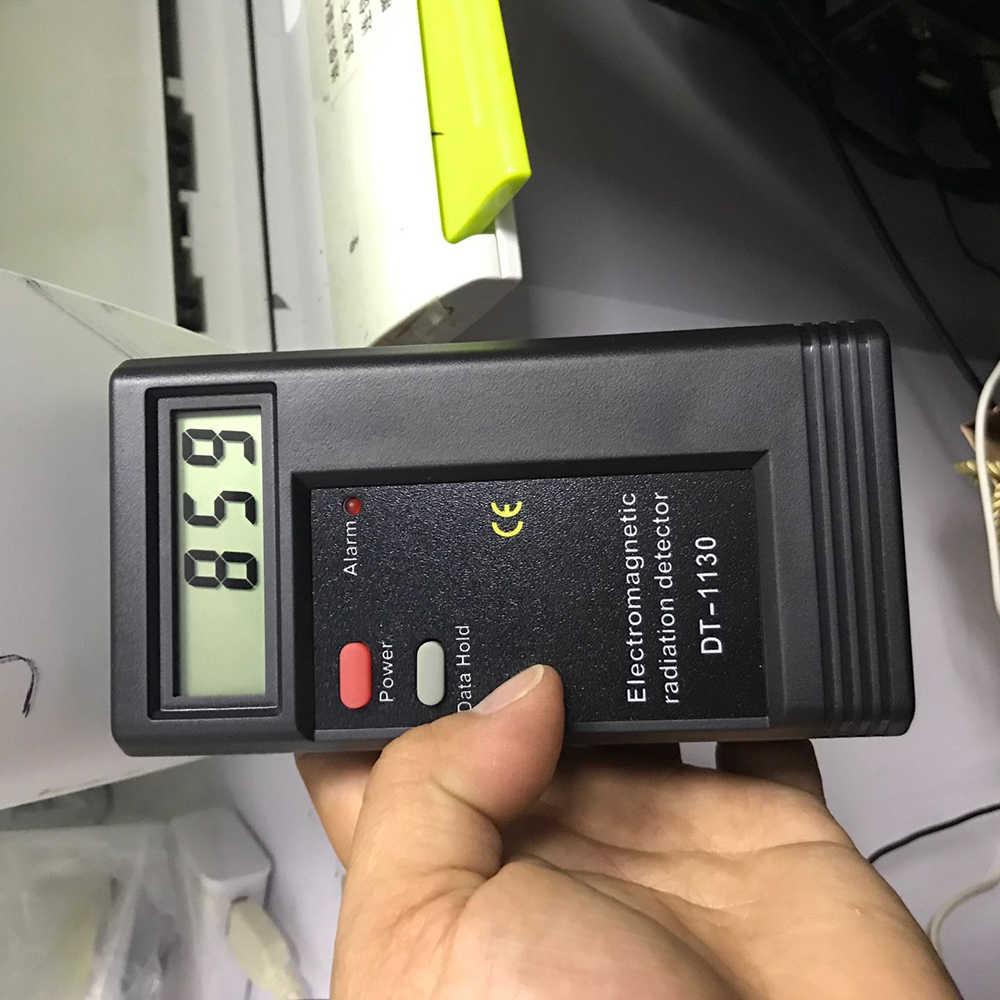 LCD Digital Electromagnetic Radiation Detector EMF Meter Dosimeter Geiger Tester