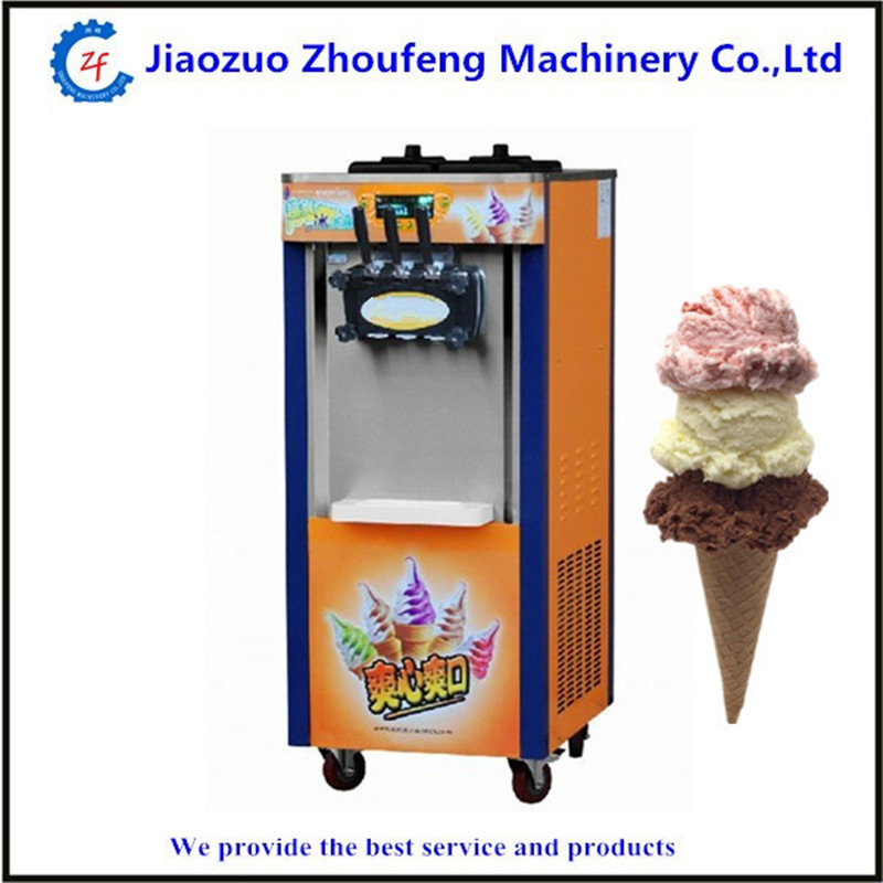Ice cream machine commercial soft serve icecream machine 3 flavour стоимость