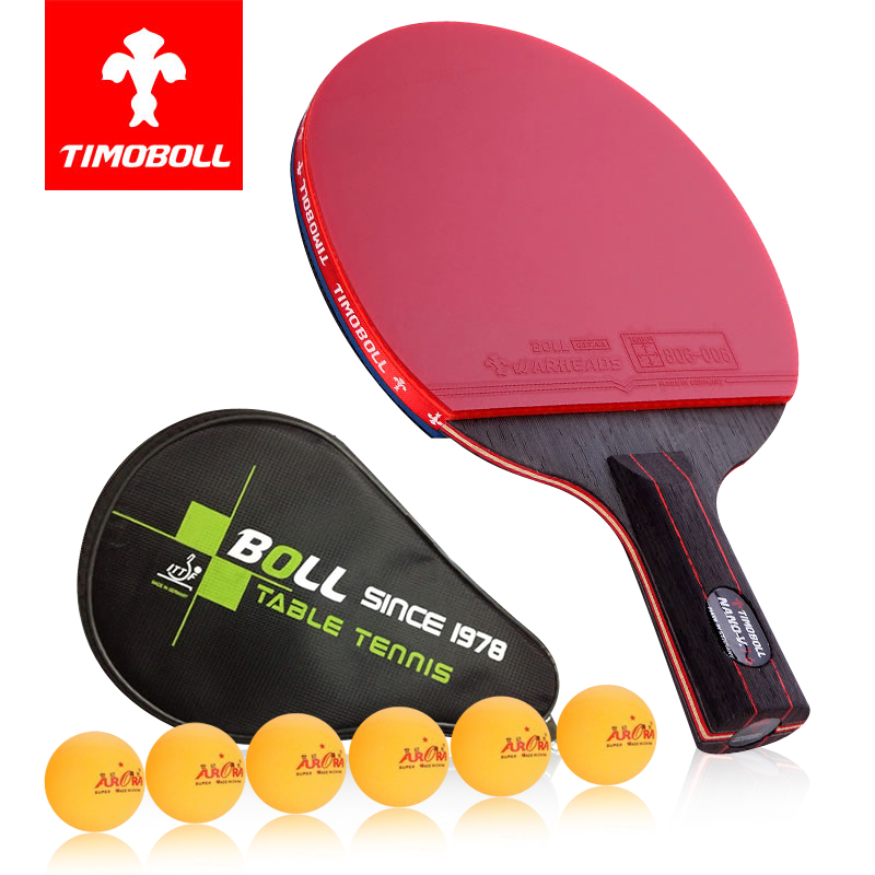 2016 Limited 7 Pimples Table Tennis Blade Padel Ball Handmade Carbon Base Plate Pill Pen - Your Castle store
