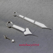 8c57ef46f0e Parnis NOVA prata borda branca MÃO Ajuste ETA 6497 6498 ST36 movimento do  relógio dos homens