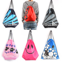 Waterproof Bag Swimming Backpacks Double Layer Drawstring Sport Bag Shoulder Bags Water Sports Travel Portable Bag For Stuff