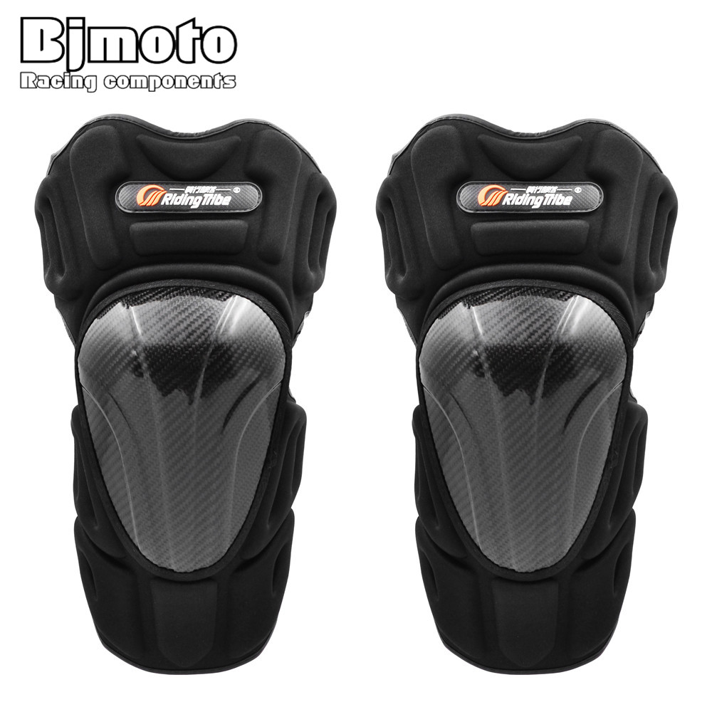 Romantic Riding Tribe 4pcs Motorcycle Knee Guard Protector Pads Motocross Protective Scoyco Gear Anti-shock Protecciones