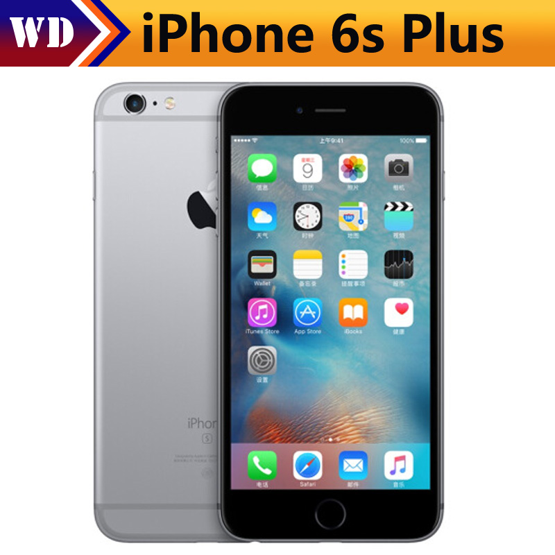 "Original Apple iPhone 6S Plus Dual Core 2GB RAM 16/64GB ROM 5.5"" Screen 12.0MP Camera 4K Video LTE Used Mobile Phones"