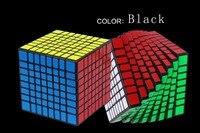Чжишен Yuxin Хуанлун 8 слоев Cube Stickerless/черный 8x8x8 куб головоломка 8 слоев игрушки для детей YX1068 8x8x8