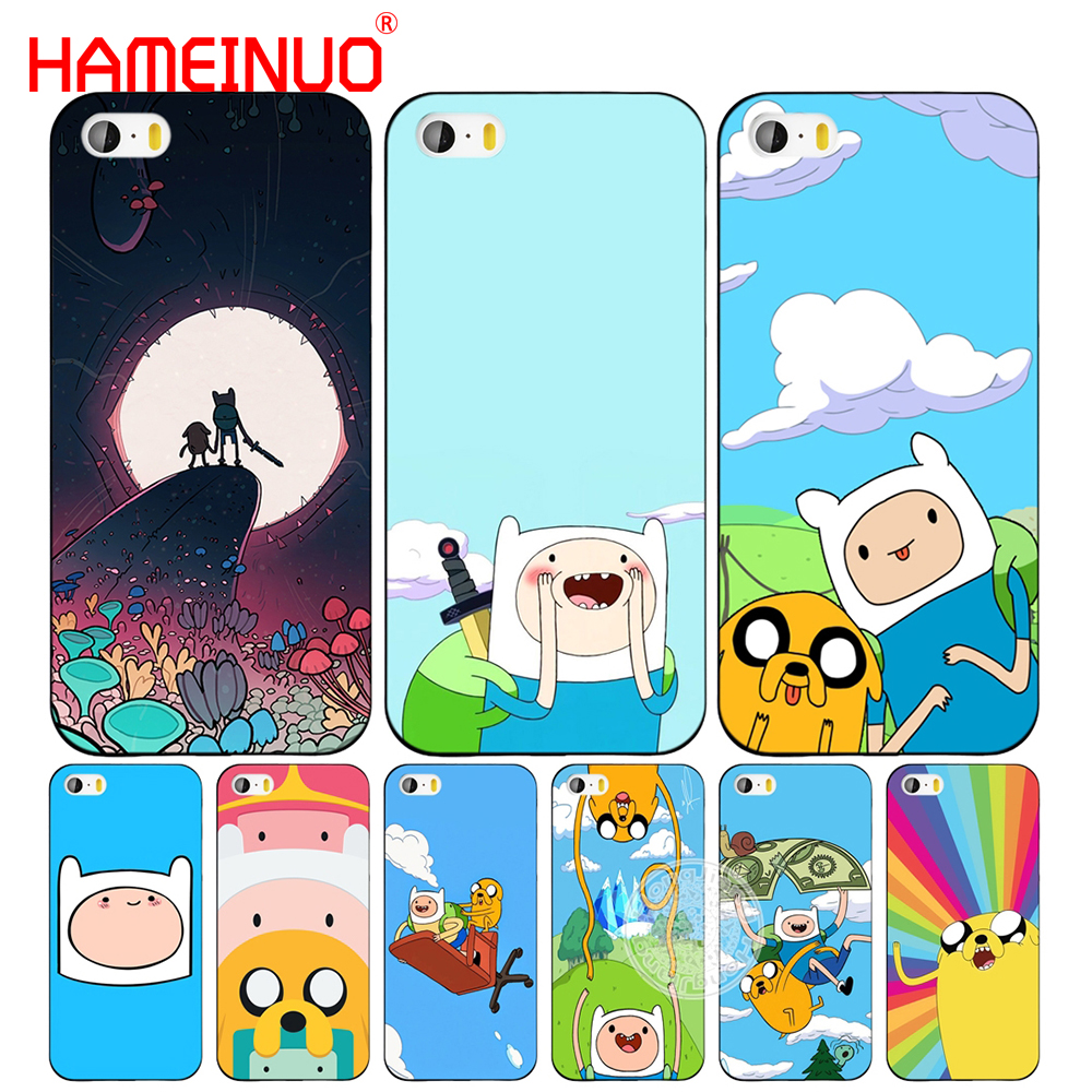 HAMEINUO Adventure Time with Jake and Finn bmo cell phone Cover case for iphone 6 4s