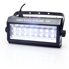 DMX Vocie control 16 LED 400W Strobe Lamp Party Disco DJ Bar Light Show Projector Stage Lighting laser projector disco balls