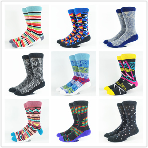 Men's Women's Unisex Street  Socks USA Size 7-10, Europe Size 40-43 (80% Cotton and Cushioned)