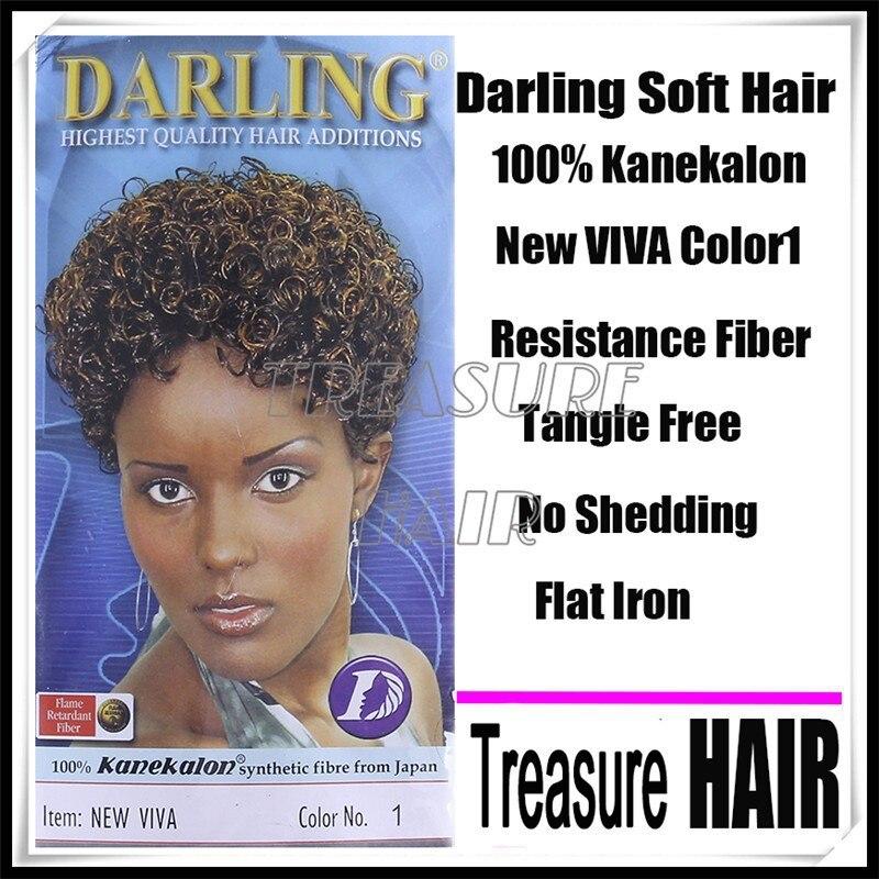 2016 Top Fashion New Viva Darling 100 For Kanekalon Fiber Afro Hair