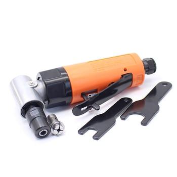"""Gran calidad 3 MM 6 MM amoladora de ángulo neumático 90 grados 1/8 """"herramienta de amoladora de aire"""