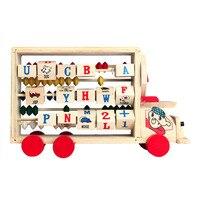 Kinder Baby Kinder Lernen Entwicklungs Vielseitig Flap Abacus Holzspielzeug Weihnachtsgeschenk 17Oct23