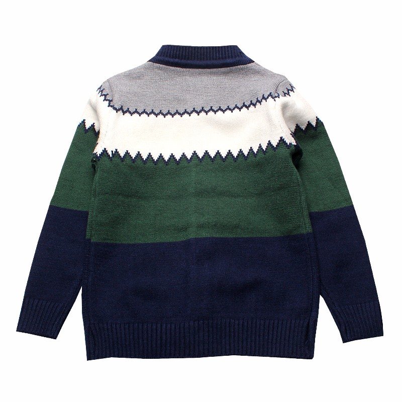 2016 Boys Sweaters Striped Cotton Top Knit Infant Outfit With Button Boy Tee Winter Warm Outerwear Cute Kids Clothes Cardigans (4)