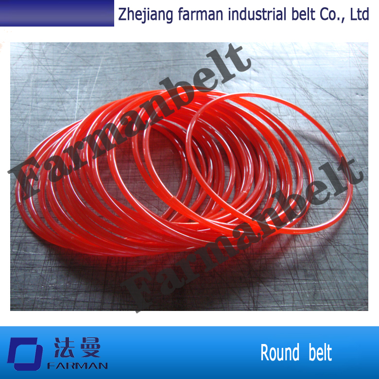 Chinese Supplier PU polyurethane round power transmission belt