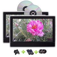 Eincar twin 11.6 дюймов HD Экран dvd плеер Поддержка HDMI USB SD 1080 P Видео TFT ЖК дисплей Экран в тире подголовник Мониторы
