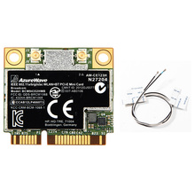 Dual Band AzureWave Broadcom BCM94352HMB BCM94352 802.11/ac 867Mbps Wifi Bluetooth 4.0 Mini PCI-E Wireless Card AW-CE123H WI-Fi