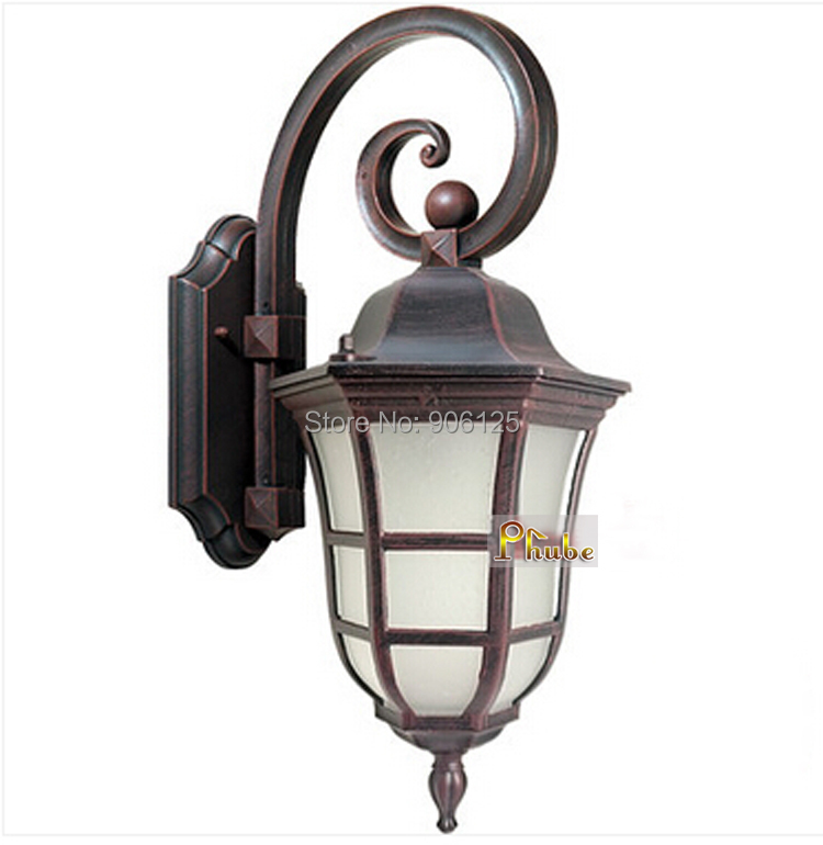 European outdoor waterproof wall lamp wall light used in courtyard european outdoor waterproof wall lamp wall light used in courtyard garden terrace rust color guaranteed 100free shipping in outdoor wall lamps from workwithnaturefo