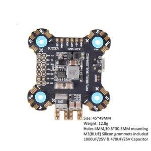 Image 2 - F722 F7 Betaflight Controllore di Volo Built in Osd BMP280 Barometro Bec 5V 2 6S con 25 V/ 1000 Uf Condensatore per Rc Drone