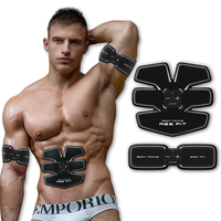 New Multi Function EMS Abdominal Exerciser Device Hous Abdominal Intensive Muscles Electric Weight Loss Slimming Massager