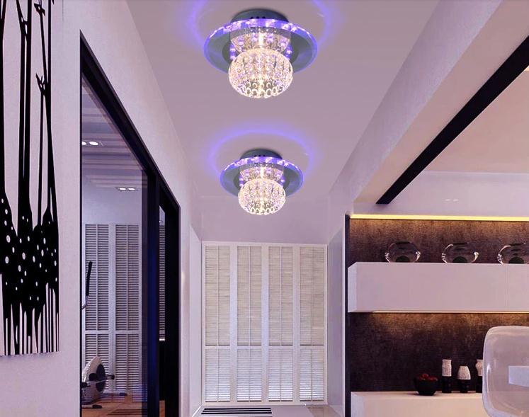 5W თანამედროვე LED- ით ჭერის - შიდა განათება - ფოტო 2