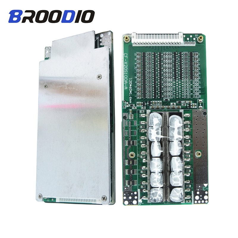 BMS 16S 45A 48V 60V Lithium Lto 18650 Battery Pack Protection Circuit Module LiFePO4 bms With balancer balance equalizer board