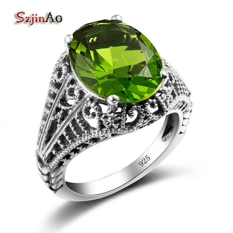 Szjinao Vintage Wedding Rings For Women Handmade Fun Gifts