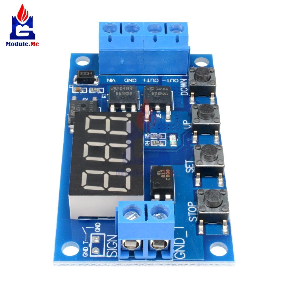 Trigger Cycle Timer Delay Switch 12v 24v Circuit Board Dual Mos Tube Three Light Control Free Electronic Circuits 8085 If Need More Parts Pls Click Hlb1kmv0fvxxxxaqxvxxq6xxfxxx2