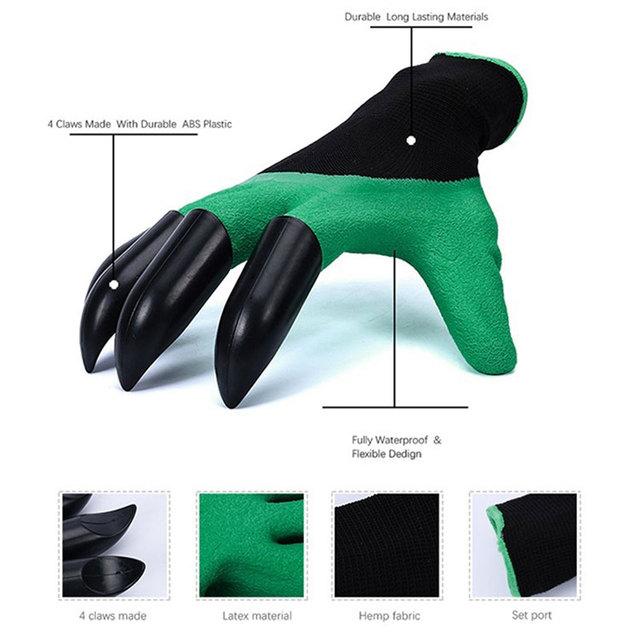 Fast Dig Garden Gloves