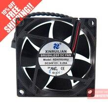 Original RUILIAN SCIENCE 7025 RDH7025B2 24V 0.20A cooling fan