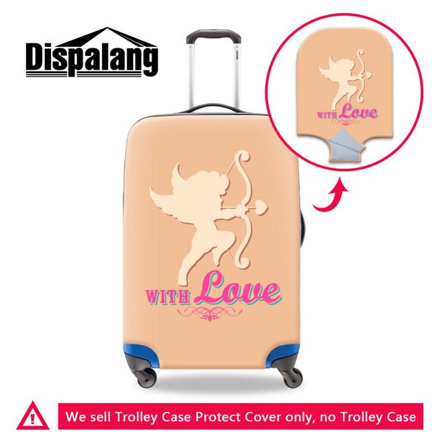 Dispalang Valentine Amor Bagagem Elástica Protetora Capas Para 18-30 polegada de Bonde Mala Proteger Acessórios de Viagem Capa de Poeira