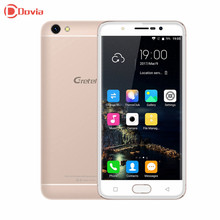 4G Smartphone Gretel A9 5.0 Inch MTK6737 Android 6.0 MTK6737 Quad Core 2GB RAM 16GB ROM 2300mAh 8.0MP Fingerprint ID Cellphone