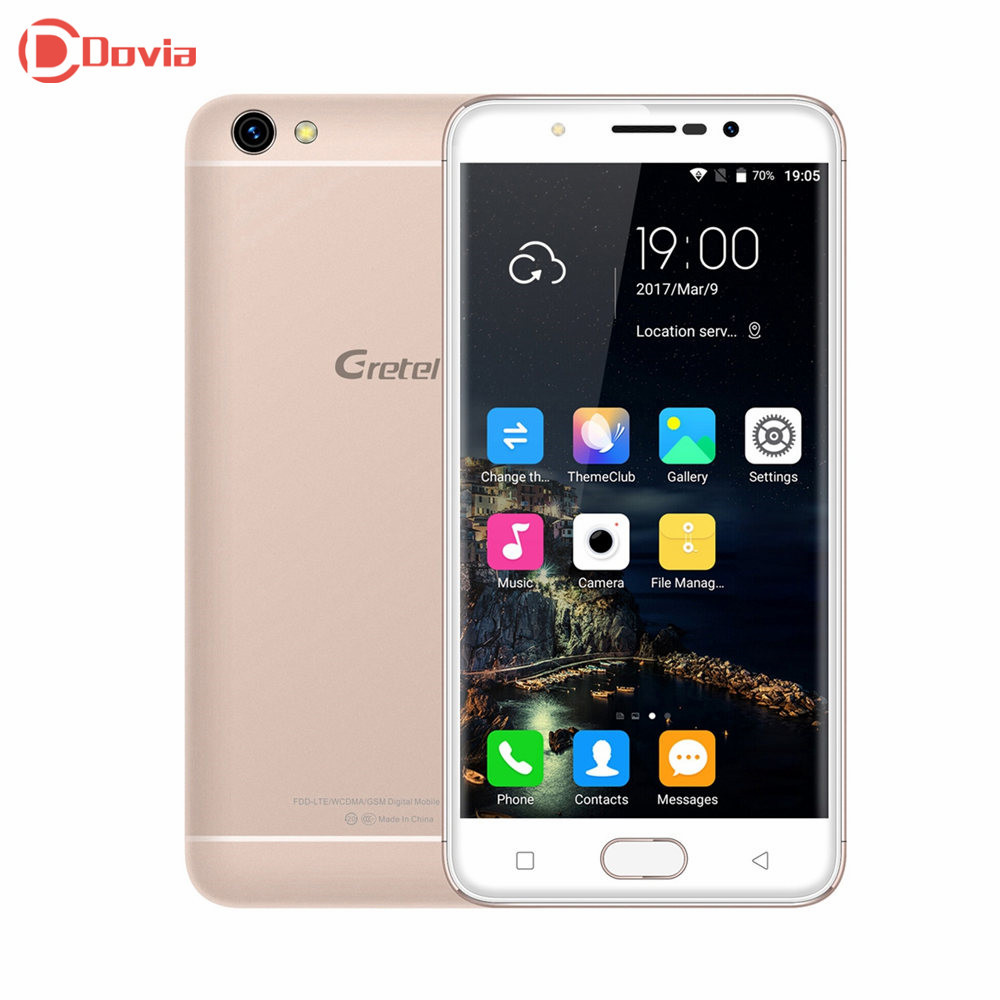 4G Smartphone Gretel A9 5.0 Inch MTK6737 Android 6.0 MTK6737 Quad Core 2GB RAM 16GB ROM 2300mAh 8.0MP Fingerprint ID Cellphone