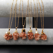 wholesale custom natural Brown Aragonite Stone