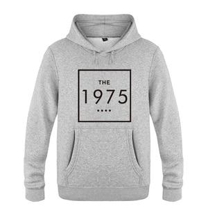 Image 5 - The 1975 Letter Swag Music  Sweatshirts Men 2018 Mens Hooded Fleece Pullover Hoodies