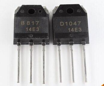 10pcs/lot 5Pairs 2SD1047 2SB817 (D1047 B817)  Transistors In Stock