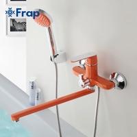 Frap Multi Color Fixer Faucets Home Bathroom Faucet Basin Mixer Tap Cold Hot Water Taps Brass