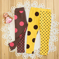 Retail hot sale girls spring autumn skinny leggings kids fashion AB side dot legging