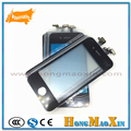 2pcs/lot Touch Panel Outer Glass Lens Cover with Touch Screen Digitizer Frame Bezel for iPhone 5 5G 5S 5C White and Black Color